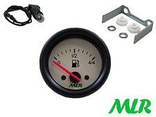 52MM livello carburante Gauge Electric WHITE FACE TRACK RACE KIT AUTO mlr.azh
