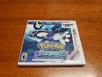 Pokemon Alpha Sapphire (Nintendo 3DS) Promotional Display Case Only