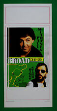 L39 LOCANDINA THE BEATLES PAUL MAC CARTNEY RINGO STARR BROAD STREET