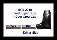99 14 Ford Super Duty Crew Cab Left 3Pc Rocker Panel & Cab Corner Front & Rear