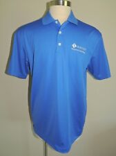 NWT NIKE GOLF DRI-FIT BLUE POLYESTER SHORT SLEEVE POLO SHIRT SIZE LGE