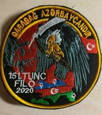 Azerbaijan-Turkish Air Forces Cloth Patch 151 Tunc Filo 2020