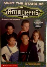 Meet the Stars of Animorphs Book, Like NEW, An Authorised Biography
