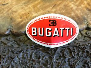 Bugatti Radiator Emblem Medallion V Shaped