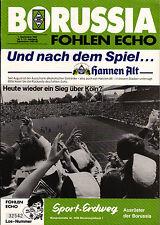 BL 85/86 Borussia Mönchengladbach - 1. FC Köln, 07.09.1985