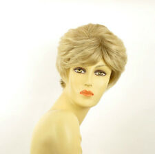 short wig for women clear light blonde blond wick ref DANA 15t613 PERUK
