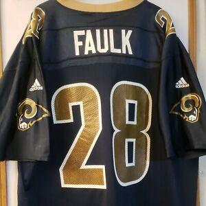 Marshall Faulk RAMS NFL AUTHENTIC ADIDAS VINTAGE JERSEY ADULT 2XL