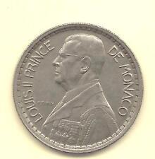 Monnaie MONACO -- 20 Francs 1947 LOUIS II Prince de Monaco