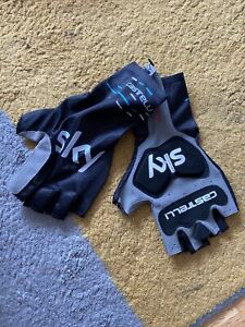Castelli Team Sky Corsa Aero Race Gloves Mitts Small Time Trial - Rider Issued