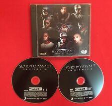 SEXION D'ASSAUT CONCERT BERCY LIVE 2012 BON ÉTAT CD + DVD