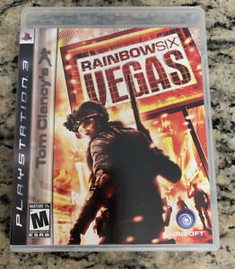 Tom Clancy's Rainbow Six: Vegas for Sony PlayStation 3 PS3 2007
