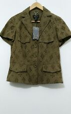 Brand New Broderie Anglaise Jacket By Mango Size UK L