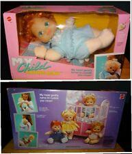 Bambola Vintage Mattel 1987 My Child Loving Baby.Rara versione capelli rossi NEW