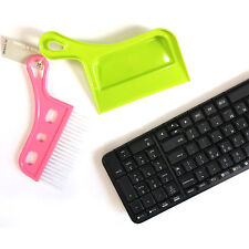Mini Cleaning Brush & Dustpan set Car Keyboard Corner Home Broom Cleaning Tools