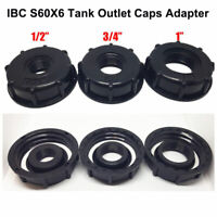 IBC S60X6 STORAGE /WATER TANK OUTLET CAPS/ADAPTER - BSP CENTER THREAD