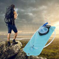 2L Camelback Water Hydro Backpack Bag Reservoir Hydration Pack Bladder Blue