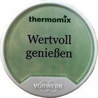 REZEPT-CHIP Vorwerk Thermomix WERTVOLL GENIESSEN Kochbuch Chip TM5 Rezepte sk24