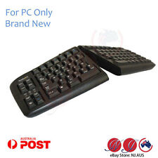 genuine Goldtouch Ergonomic Keyboard Adjustable Split Level USB+PS2KeyOvation PC
