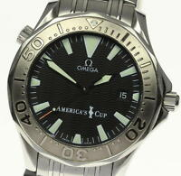 Good! OMEGA Seamaster 300m America's cup Limited 2533.50 Automatic Men's_353305