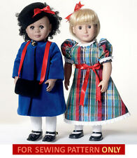 SEWING PATTERN! MAKE DOLL CLOTHES! FITS AMERICAN GIRL SAMANTHA~REBECCA~CECILE!!