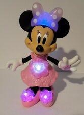 "Disneys Minnie Mouse Bloomin Bows Minnie Doll Fisher Price Lights Up Talks 11"""