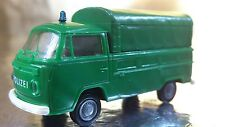 ** Brekina 33901 VW T2 (Police) Polizei Truck + Removable Canopy 1:87 HO Scale