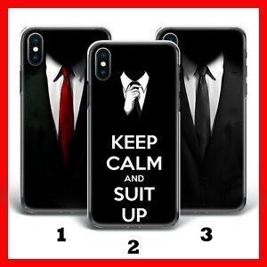SUIT UP HITMAN TIE iPhone 4 5 5C SE 1&2 6 7 8 X Xs XR MAX PLUS PHONE CASE COVER