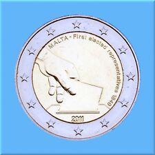 2 Euro Gedenkmünze Malta 2011 - Wahl der ersten Abgeordneten 1849