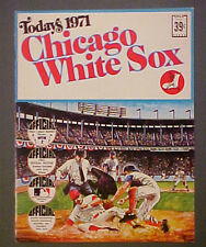 1971 Chicago White Sox Dell Baseball Memorabilia Photo Stamps Team Booklet Set
