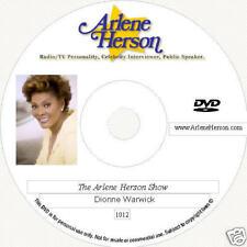 Dionne Warwick  2 TV Interviews  (1 hour) DVD
