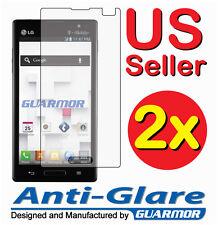 2x Anti Glare Matte Screen Protector Cover Guard for T-Mobile LG Optimus L9 P769