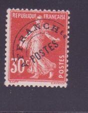 "FRANCE PREOBLITERE 58 "" SEMEUSE 30c ROUGE "" NEUF xx TTB"