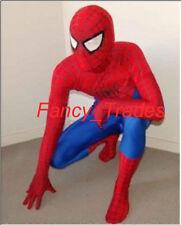 Big Sale Spiderman Mascot Costume Fancy Dress Halloween Cosplay Suit+Free Ship