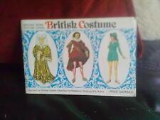 Brooke Bond British Costume Complete Official Album Tea Cards