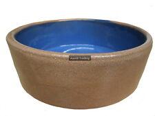 AVF-900 Ceramic Feed Water Bowl 9cm Dog Cat Reptile Bird Pet Animal Blue Heavy