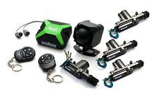 Alarmas de coche Cierre Central + immobiliser Dobles + Ultrasonido + 4 puerta Central cerradura Kit