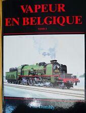 Vapeur en Belgique 2 tomes de Phil Damply