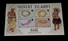 GILBERT ISLANDS #320a, 1978, CHRISTMAS, SOUVENIR SHEET, MNH, NICE LQQK