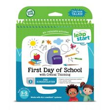 Leapfrog Leapstart Level 2, First Day Of School With Critical Thinking Book 3-5y