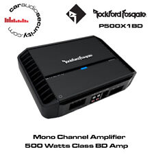 Rockford Fosgate Punch P500X1BD - Mono Amplifier 500 Watts Class BD Amp