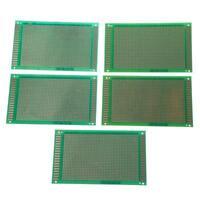 5x Lochrasterplatine Experimentier Platinen Leiterplatten Streifenraster 9x Q4C4