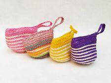 THAI HANDICRAFT CUTE BAG COIN BAG PURSE JUTE SMALL FOR WOMEN & GIRL GIFT