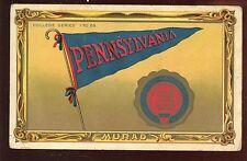 1911 Murad College Series Card #20 Pennsylvania