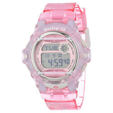 Casio Baby-G BG169R-4 Digital Neutral Face Pink Whale Resin Ladies Sport Watch