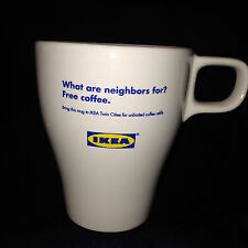 IKEA TWIN CITIES MINNEAPOLIS/ST PAUL MINNESOTA FREE UNLIMITED COFFEE REFILLS MUG