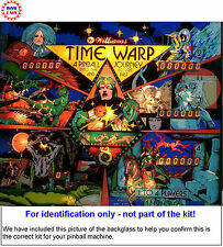 1979 Williams Time Warp Pinball Tune-up Kit - Includes Rubber Ring Kit!