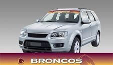 62585 BRISBANE BRONCOS COLOUR VISOR BLOCK OUT DECAL NRL CAR STICKERS ITAG