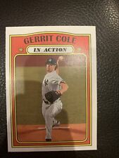 (8) Gerrit Cole 2021 TOPPS HERITAGE IN ACTION CARD LOT #250 NEW YORK YANKEES