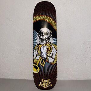 "Landyachtz Skeleton Skateboard Deck 8.5"" x 33"""