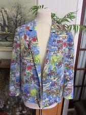 Kitsch River Island royal jubilee summer blazer, size 14, proud to be British
